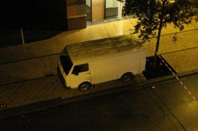 Een verdacht voertuig