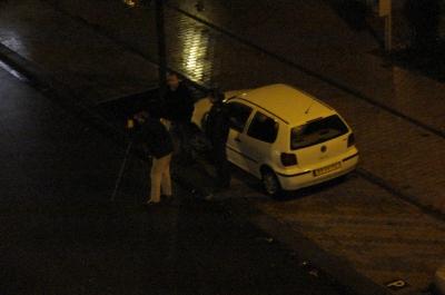 De politiefotograaf maakt nog enkele foto's